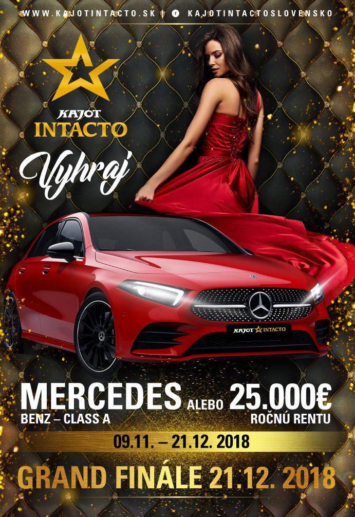 Vyhraj Mersedes-Benz